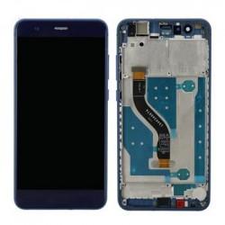 Huawei P10 Lite LCD Display + Dotyková Deska+ Přední Kryt Blue