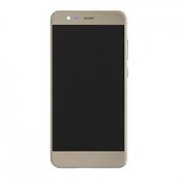 Huawei P10 Lite LCD Display + Dotyková Deska+ Přední Kryt Gold