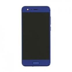 Honor 9 LCD Display + Dotyková Deska + Přední Kryt Blue (Service Pack)