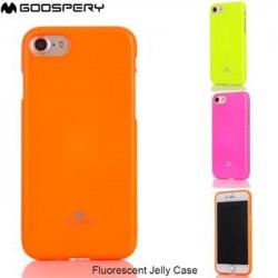 Mercury Fluorscence Jelly Case pro Samsung N950 Galaxy Note 8 Orange