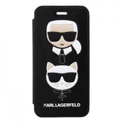 KLFLBKI8KICKC Karl Lagerfeld Choupette Book Pouzdro Black pro iPhone 7/8
