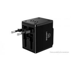 USAMS CC44 Cestovní Dobíječ Multi Travel Adapter 4v1 (EU Blister)
