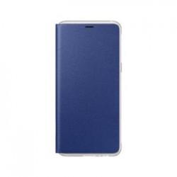 EF-FA530PLE Samsung Neon Flip Pouzdro Blue pro Galaxy A8 2018 (EU Blister)