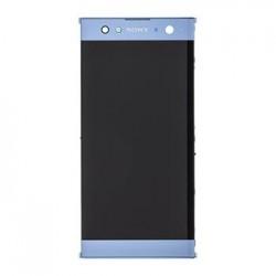 LCD Display + Dotyková Deska + Přední Kryt Blue Sony H4213 Xperia XA2 Ultra (Service Pack)