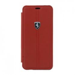 FEHDEFLBKS9RE  Ferrari Heritage Book Case Red pro Samsung G960 Galaxy S9