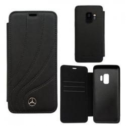 MEFLBKS9LDCLBK Mercedes Book Case New Organic II Black pro Samsung G965 Galaxy S9 Plus