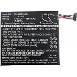 CS-AUZ300SL Baterie 4650mAh Li-Pol pro Asus ZenPad 10