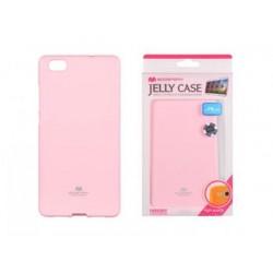 Mercury Jelly Case pro Huawei P Smart Pink