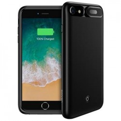 USAMS US-CD25 Power Case 3000mAh Black pro iPhone 6/7/8 (EU Blister)