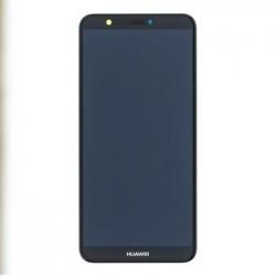 Huawei P Smart LCD Display + Dotyková Deska + Přední Kryt Black (Service Pack)