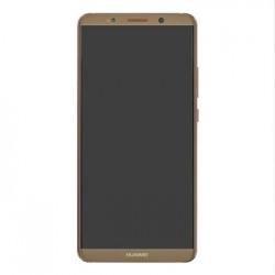 Huawei Mate 10 PRO LCD Display + Dotyková Deska + Přední Kryt Mocha Brown (Service Pack)