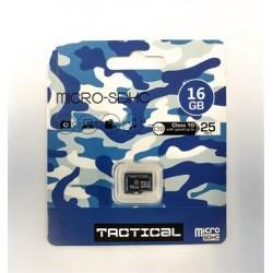 microSDHC 16GB Tactical Class 10 wo/a (EU Blister)