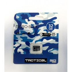 microSDHC 32GB Tactical Class 10 wo/a (EU Blister)