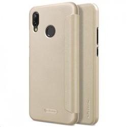 Nillkin Sparkle Folio Pouzdro Gold pro Huawei P20 Lite