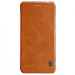 Nillkin Qin Folio Pouzdro Brown pro Huawei P20 Lite