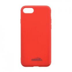 Kisswill TPU Brushed Pouzdro Red pro Samsung A730 Galaxy A8 Plus