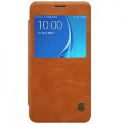 Nillkin Qin S-View Pouzdro Brown pro Xiaomi Redmi Note 5