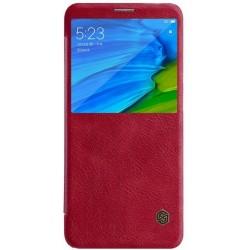 Nillkin Qin S-View Pouzdro Red pro Xiaomi Redmi Note 5
