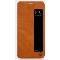 Nillkin Qin S-View Pouzdro Brown pro Huawei P20 Pro