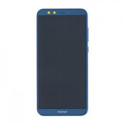 Honor 9 Lite LCD Display + Dotyková Deska + Přední Kryt Blue (Service Pack)