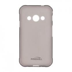 Kisswill TPU Pouzdro Black pro Samsung Galaxy A605 A6 Plus 2018