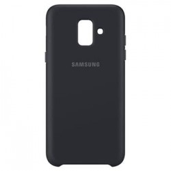EF-PA600CBE Samsung Dual Layer Cover Black pro Galaxy A6 2018 (EU Blister)