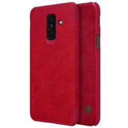 Nillkin Qin Book Pouzdro pro Samsung A605 Galaxy A6 Plus 2018 Red