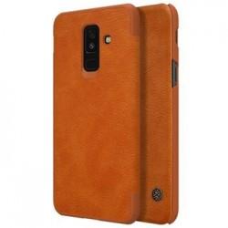 Nillkin Qin Book Pouzdro pro Samsung A605 Galaxy A6 Plus 2018 Brown