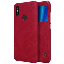 Nillkin Qin S-View Pouzdro Red pro Xiaomi Mi A2