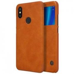 Nillkin Qin S-View Pouzdro Brown pro Xiaomi Mi A2