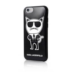 KLHCP6HTKCH Karl Lagerfeld TPU Pouzdro K-Team Black pro iPhone 6/6S