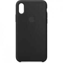 MQT12ZM/A Apple Silikonový Kryt Black pro iPhone X (EU Blister)