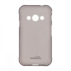 Kisswill TPU Pouzdro Black pro Motorola E5 Plus