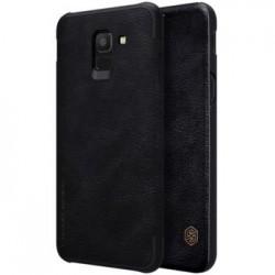 Nillkin Qin Book Pouzdro pro Samsung J600 Galaxy J6 Black