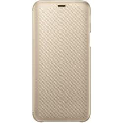 EF-WJ600CFE Samsung Folio Pouzdro Gold pro Galaxy J6 2018 (EU Blister)