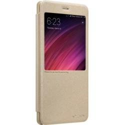 Nillkin Sparkle S-View Pouzdro Gold pro Xiaomi Redmi 6
