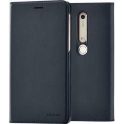 CP-308 Nokia Slim Flip Pouzdro pro Nokia 6.1 Black (EU Blister)