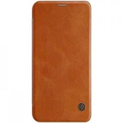Nillkin Qin Book Pouzdro Brown pro Xiaomi Mi A2 Lite