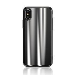 USAMS Sanz Zadní Kryt Black pro iPhone X