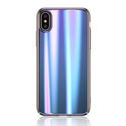 USAMS Sanz Zadní Kryt Blue pro iPhone X