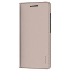 CP-306 Nokia Slim Flip Pouzdro pro Nokia 3.1 Cream (EU Blister)