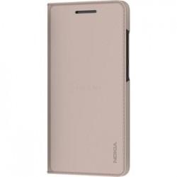 CP-307 Nokia Slim Flip Pouzdro pro Nokia 5.1 Cream (EU Blister)