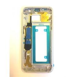 Samsung G935 Galaxy S7 Edge Střední Díl Silver OEM
