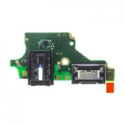Huawei P20 Lite Deska vč. Nabíjecího a Audio Konektoru (Service Pack)