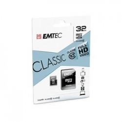 microSDHC 32GB Emtec Class 10 w/a (EU Blister)