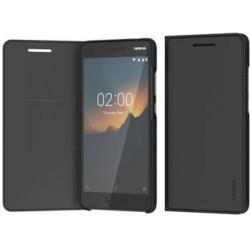 CP-220 Nokia Slim Flip Pouzdro pro Nokia 2.1 Black (EU Blister)