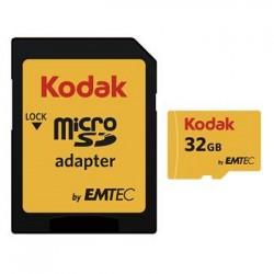 microSDHC 32GB Kodak Class 10 w/a (EU Blister)