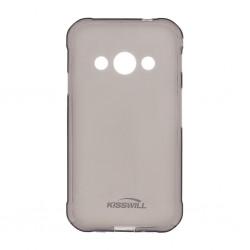 Kisswill TPU Pouzdro Black pro Samsung A750 Galaxy A7 2018