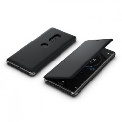 SCSH70 Sony Style Cover Flip pro Xperia XZ3 Black