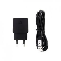 HW-050100E2W Huawei USB Cestovní Dobíječ + microUSB Datový Kabel Black (Bulk)